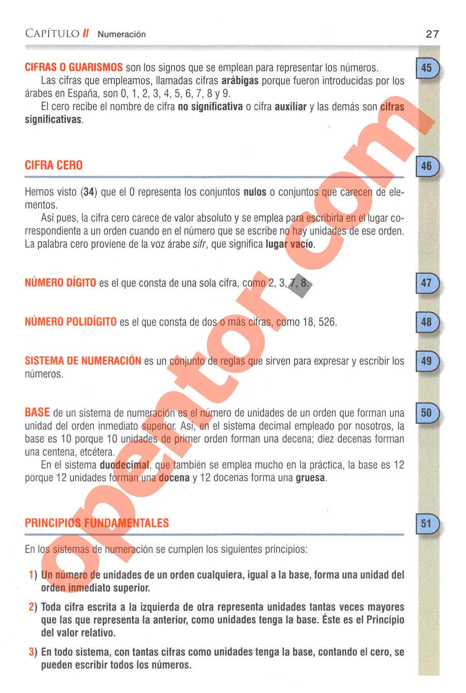 Aritmética de Baldor - Página 27