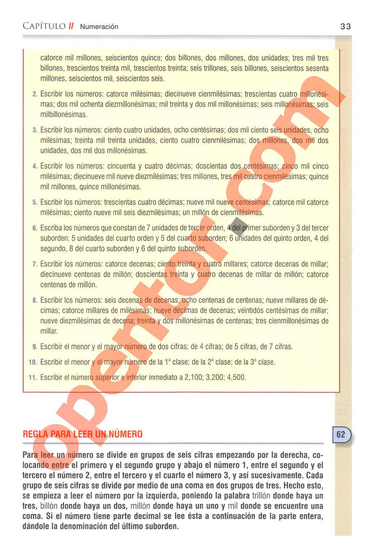 Aritmética de Baldor - Página 33