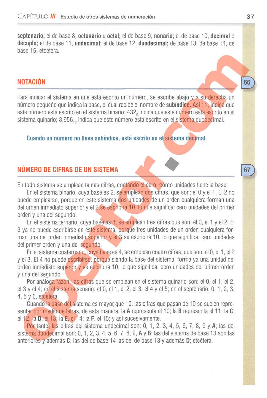 Aritmética de Baldor - Página 37