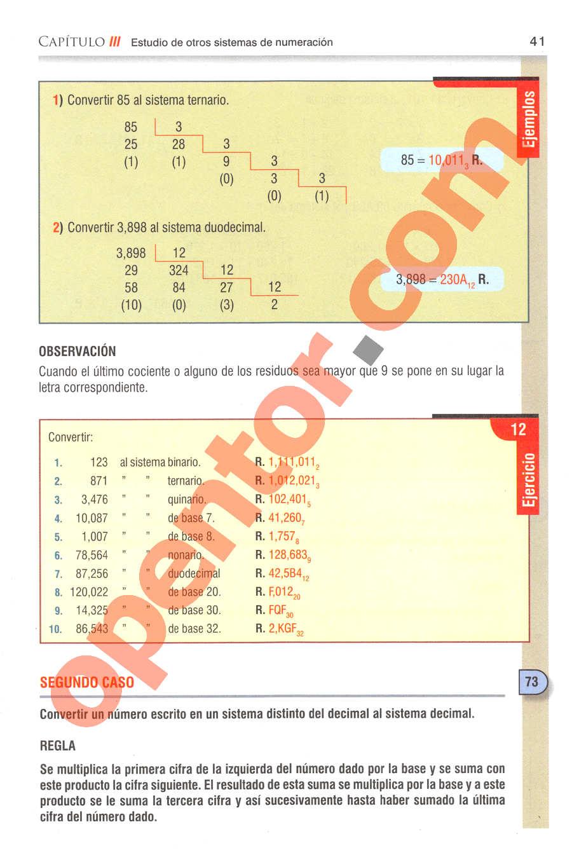 Aritmética de Baldor - Página 41
