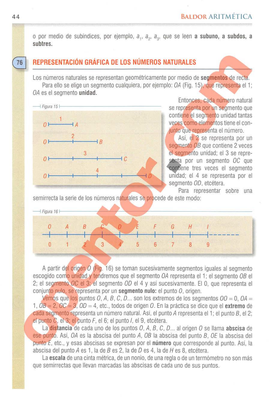 Aritmética de Baldor - Página 44