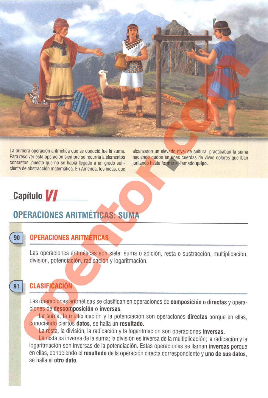 Aritmética de Baldor - Página 58
