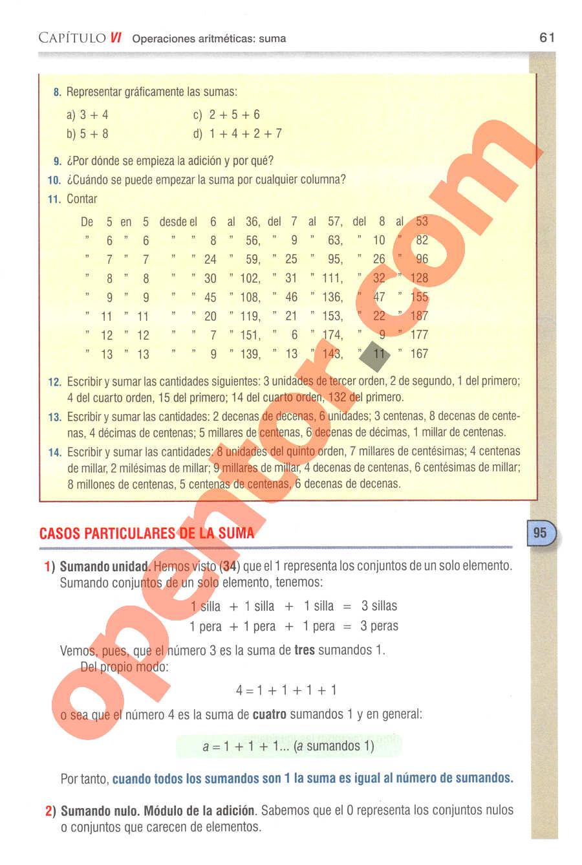 Aritmética de Baldor - Página 61