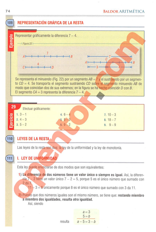 Aritmética de Baldor - Página 74