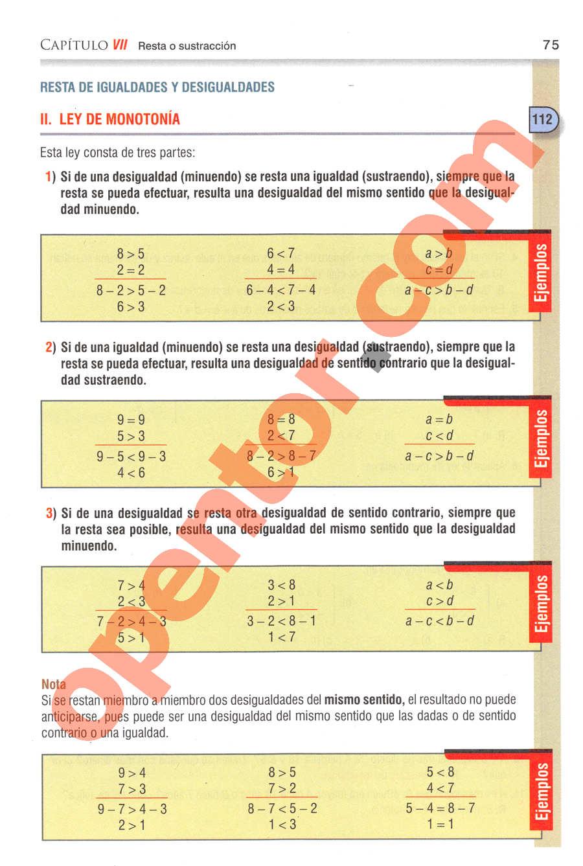 Aritmética de Baldor - Página 75
