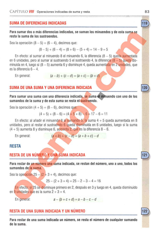 Aritmética de Baldor - Página 83