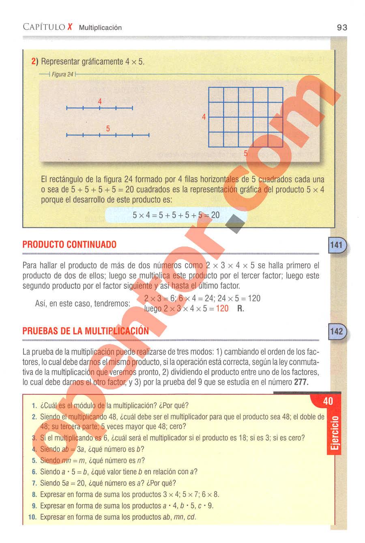 Aritmética de Baldor - Página 93