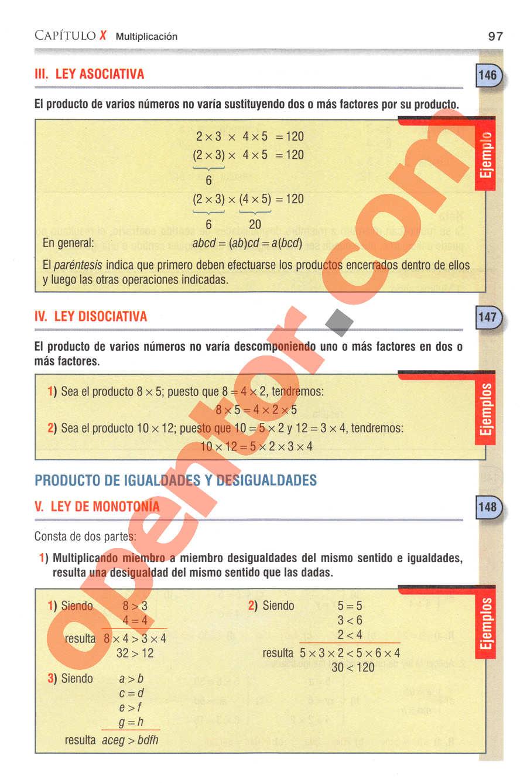 Aritmética de Baldor - Página 97