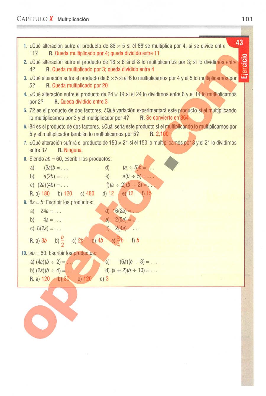 Aritmética de Baldor - Página 101