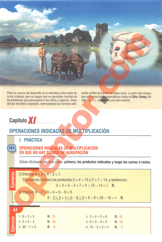 Aritmética de Baldor - Página 102