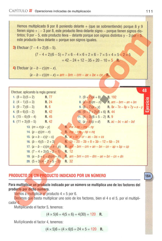 Aritmética de Baldor - Página 111