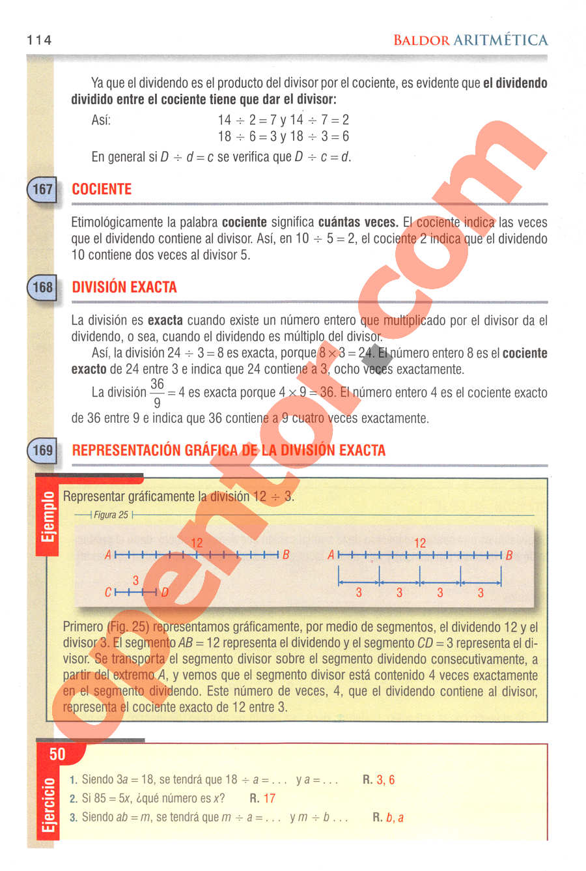 Aritmética de Baldor - Página 114