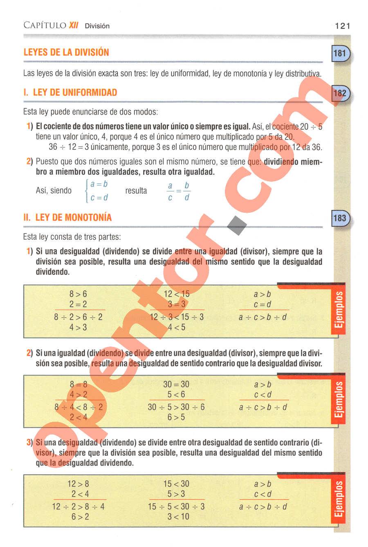 Aritmética de Baldor - Página 121