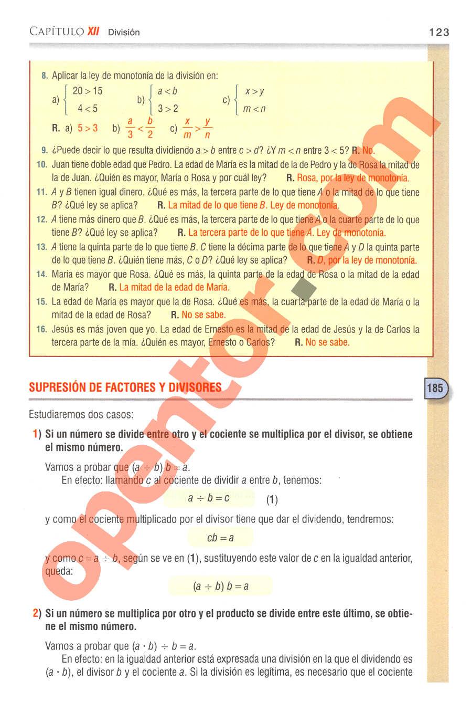 Aritmética de Baldor - Página 123