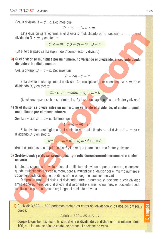 Aritmética de Baldor - Página 125