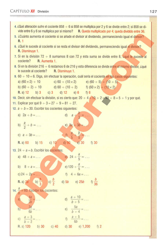 Aritmética de Baldor - Página 127