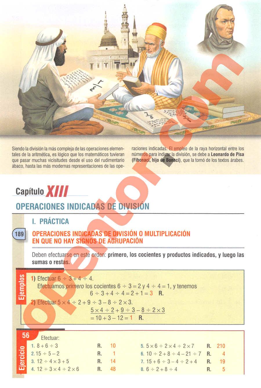 Aritmética de Baldor - Página 128