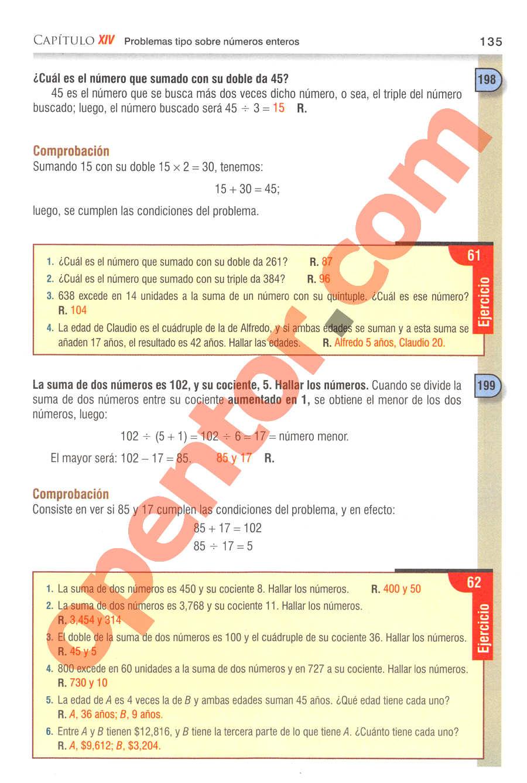 Aritmética de Baldor - Página 135