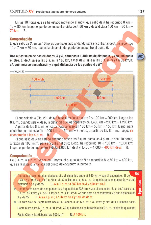 Aritmética de Baldor - Página 137