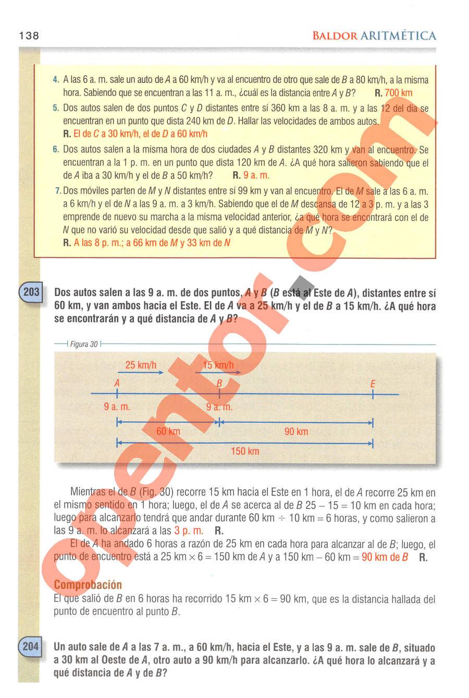 Aritmética de Baldor - Página 138