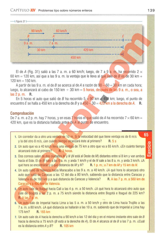 Aritmética de Baldor - Página 139