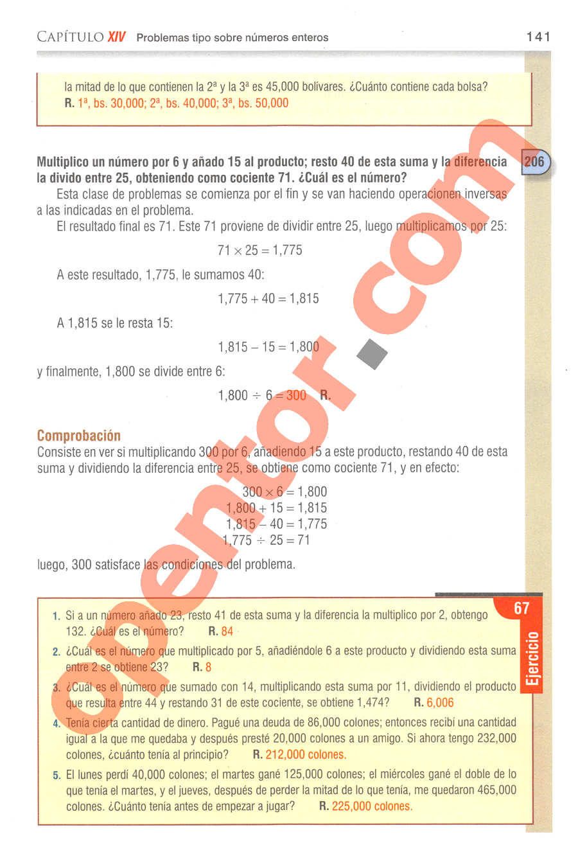 Aritmética de Baldor - Página 141