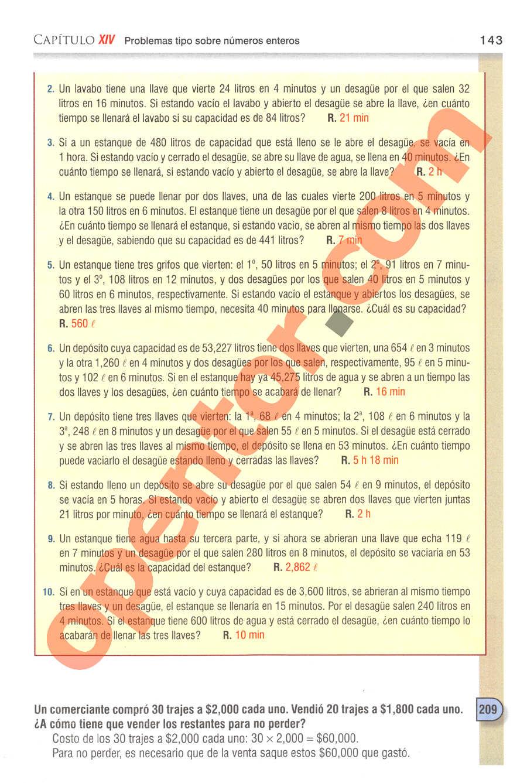Aritmética de Baldor - Página 143