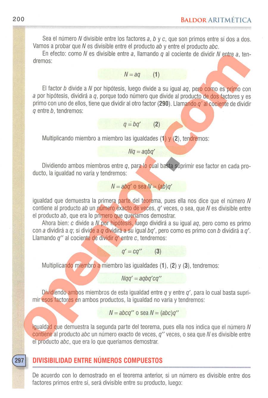 Aritmética de Baldor - Página 151