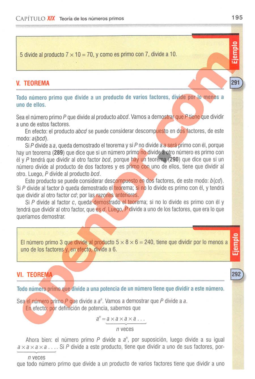 Aritmética de Baldor - Página 156