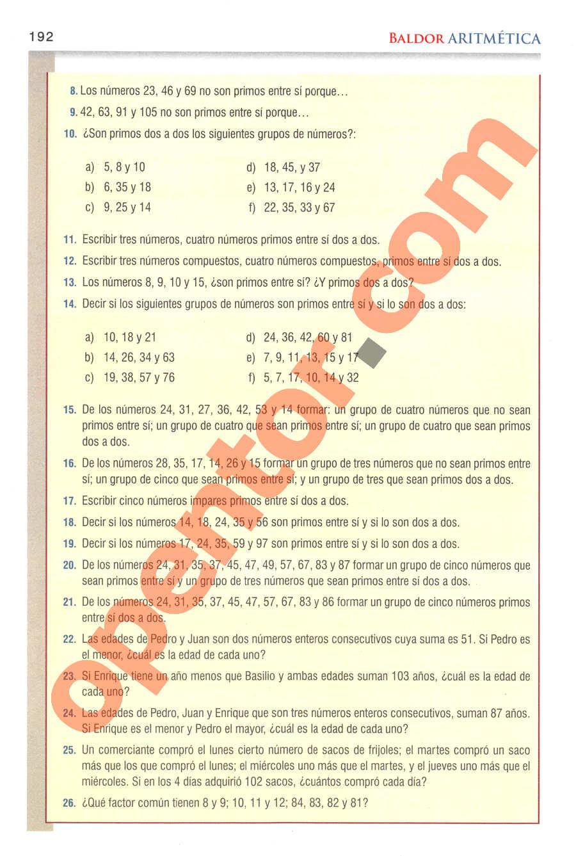 Aritmética de Baldor - Página 159