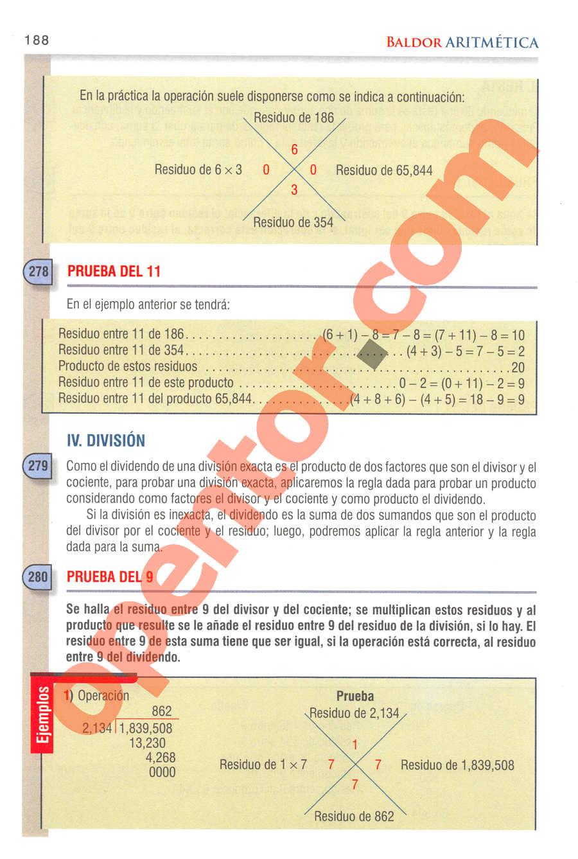 Aritmética de Baldor - Página 163