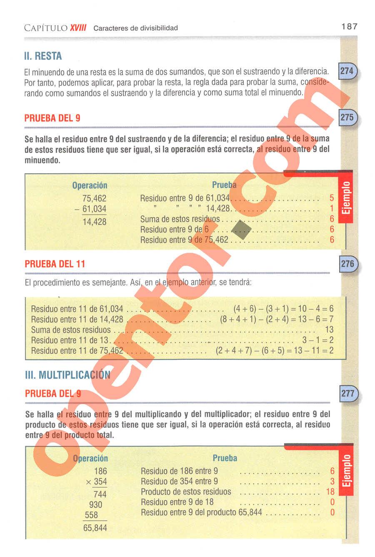 Aritmética de Baldor - Página 164