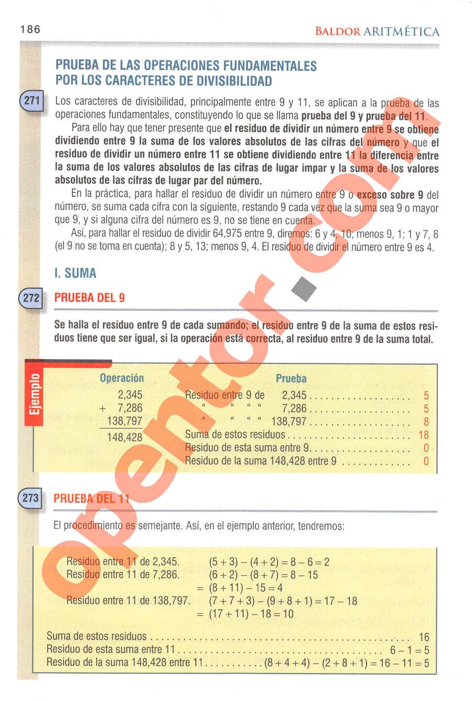 Aritmética de Baldor - Página 165