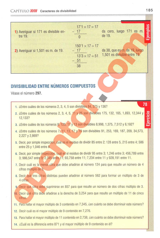 Aritmética de Baldor - Página 166