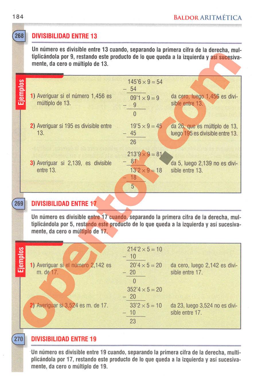 Aritmética de Baldor - Página 167