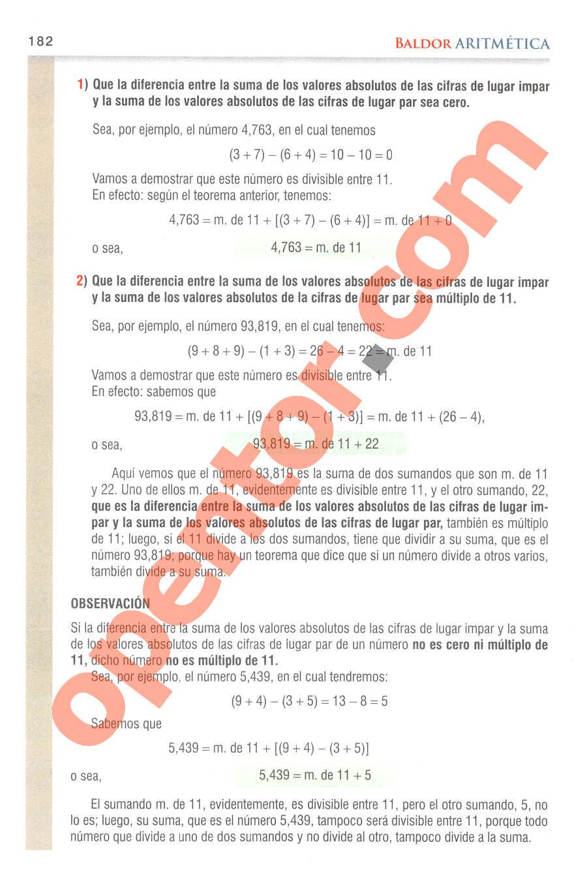Aritmética de Baldor - Página 169