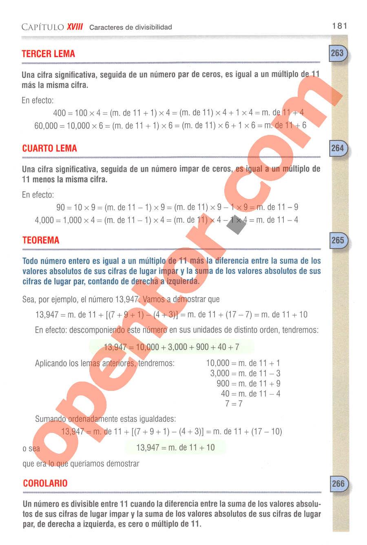 Aritmética de Baldor - Página 170