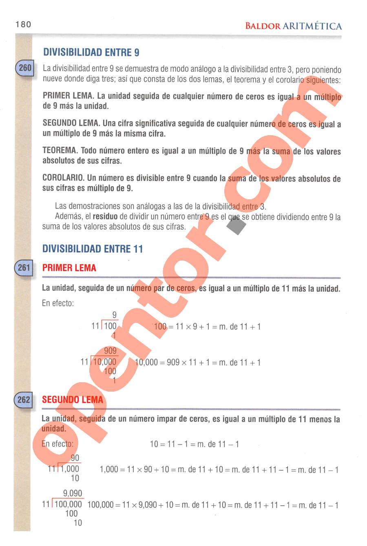Aritmética de Baldor - Página 171