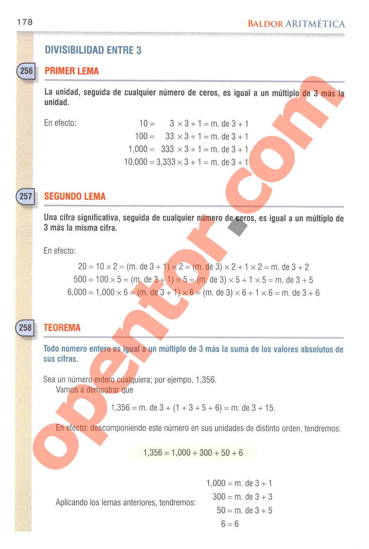 Aritmética de Baldor - Página 173