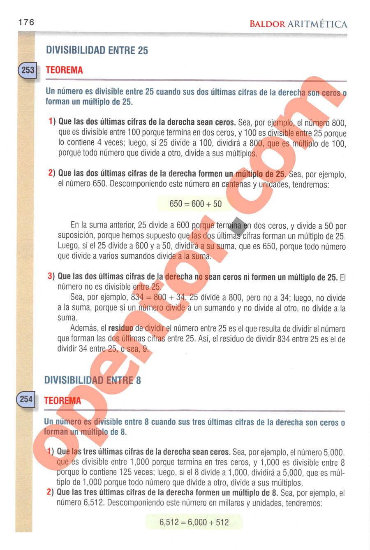 Aritmética de Baldor - Página 175