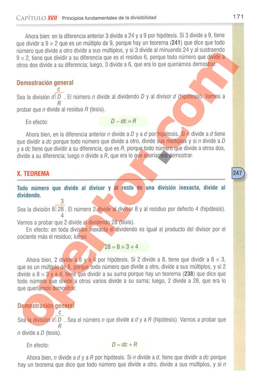 Aritmética de Baldor - Página 180
