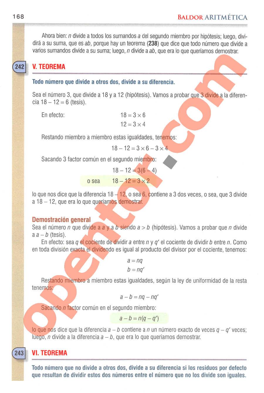 Aritmética de Baldor - Página 183