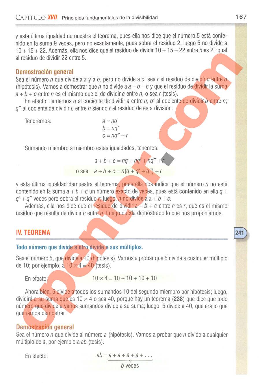 Aritmética de Baldor - Página 184