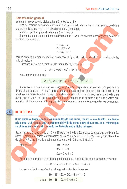 Aritmética de Baldor - Página 185