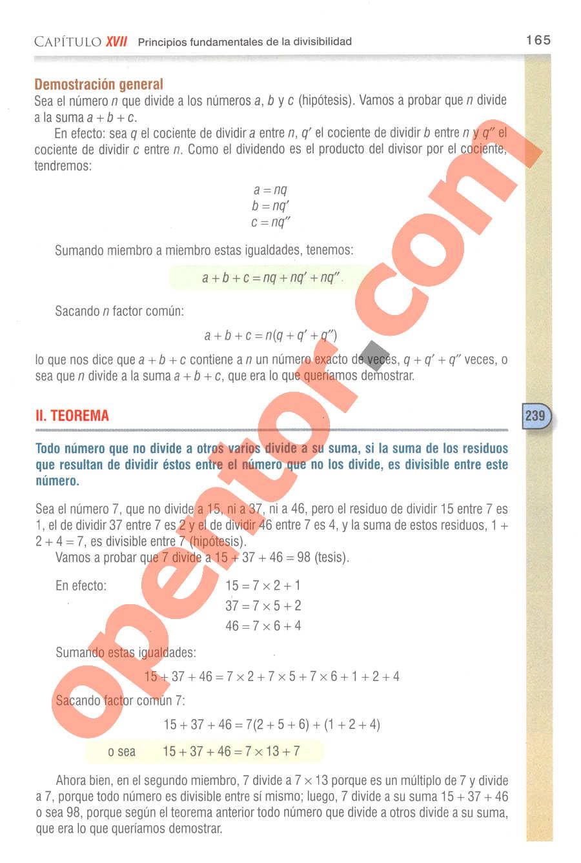 Aritmética de Baldor - Página 186