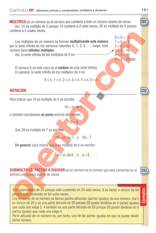 Aritmética de Baldor - Página 190