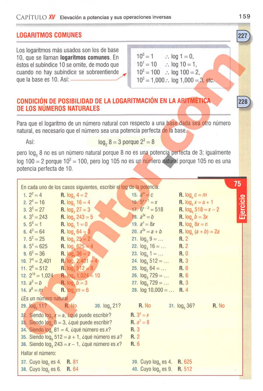 Aritmética de Baldor - Página 192