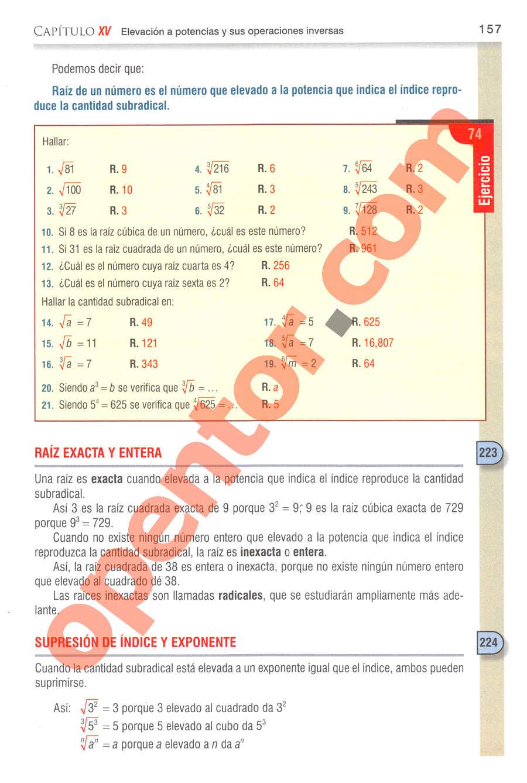 Aritmética de Baldor - Página 194
