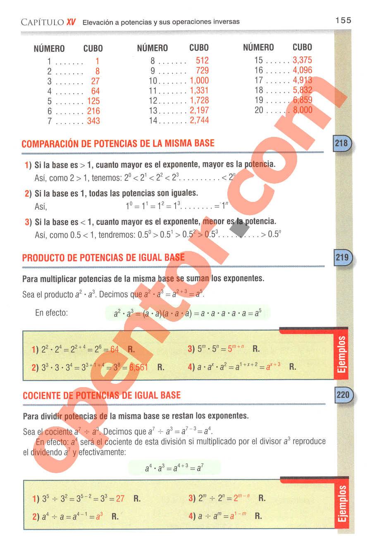 Aritmética de Baldor - Página 196