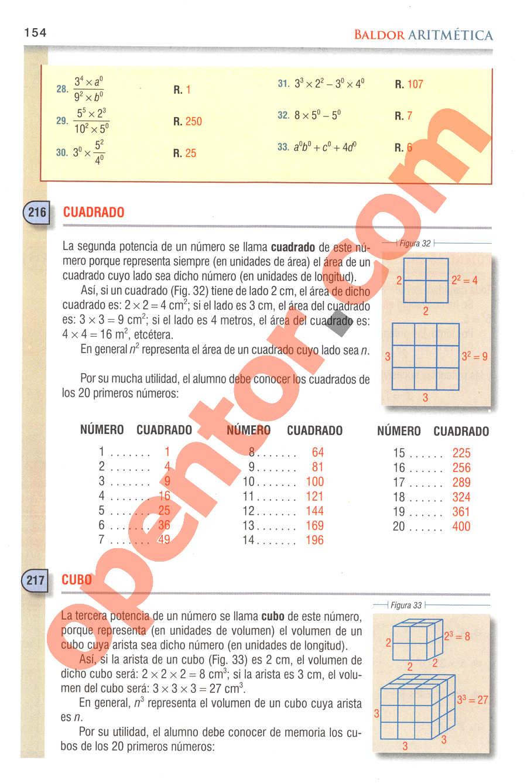 Aritmética de Baldor - Página 197